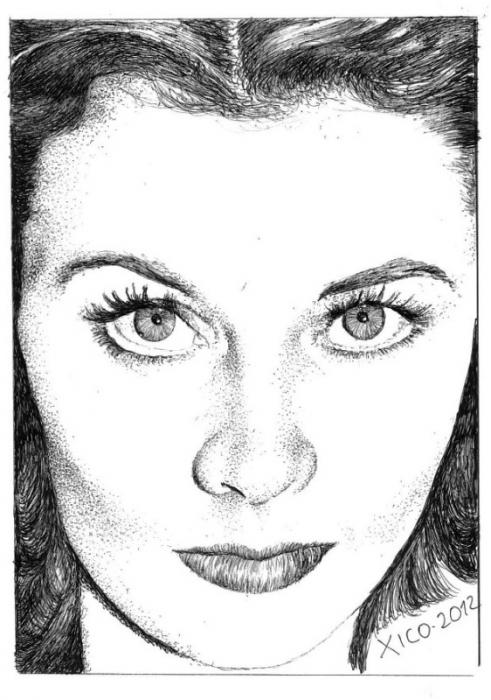 Vivien Leigh by FCARLOS